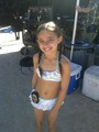 Teilor Grubbs on the Set of Hawaii Five-0
