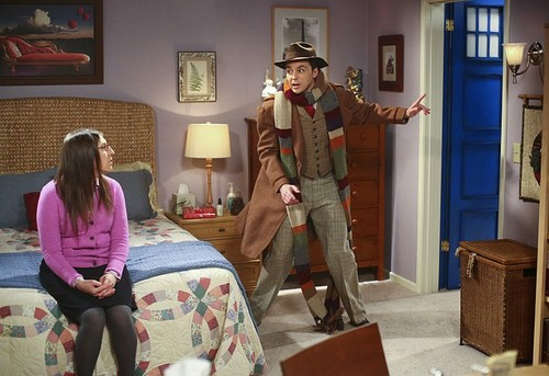 Teen テレビ shows 壁紙 probably containing a living room, a drawing room, and a family room titled The Big Bang Theory 8.19 ''The Skywalker Incursion''