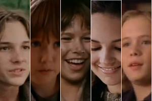 The Cast of Tom and Huck