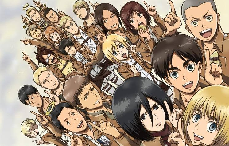 The Characters of AOT