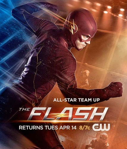 The Flash (CW) wallpaper entitled The Flash - Episode 1.18 - All-Star Team-Up - New Poster