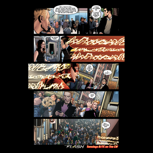 The Flash - Episode 1.19 - Who is Harrison Wells - Comic prévisualiser