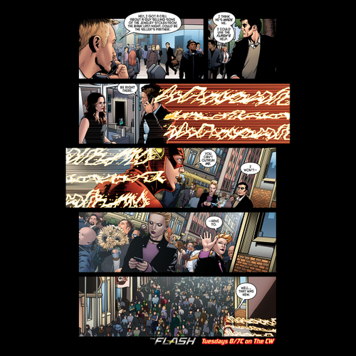 The Flash (CW) Hintergrund containing Anime called The Flash - Episode 1.19 - Who is Harrison Wells - Comic Vorschau