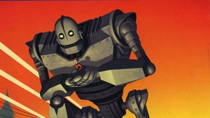 The Iron Giant kertas dinding