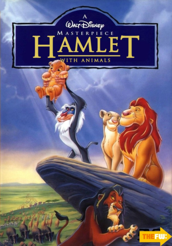 The Lion King kertas dinding containing Anime entitled The Lion King Hamlet poster