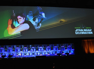 The stella, star Wars Celebration
