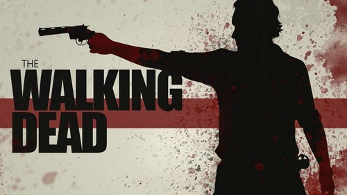 Walking Dead fond d'écran entitled The Walking Dead