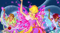 The Winx Club Butterflyix Dance - the-winx-club photo
