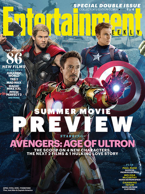 This Week's Cover: Avengers: Age of Ultron assembles its own worst enemy