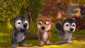 Three little pups