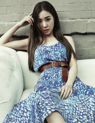 Tiffany Hwang wallpaper called Tiffany - Grazia Korea Magazine Edit