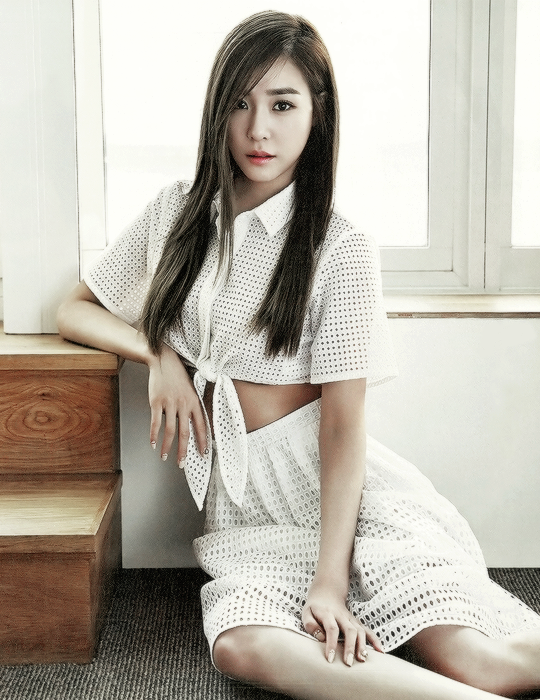 Tiffany - Grazia Korea Magazine 編集