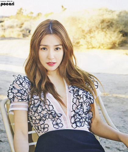 Tiffany Hwang fondo de pantalla possibly containing a portrait called Tiffany for Instyle Magazine April 2015