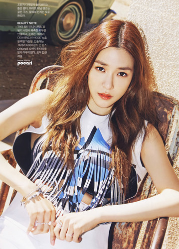 Tiffany Hwang wallpaper with a portrait called Tiffany for Instyle Magazine April 2015