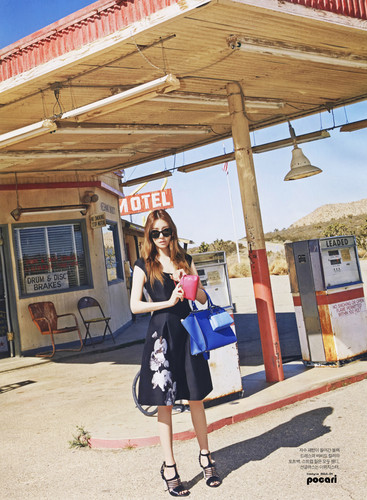 Tiffany Hwang fondo de pantalla titled Tiffany for Instyle Magazine April 2015
