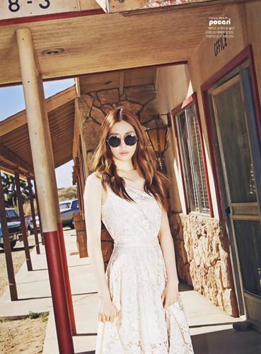 Tiffany Hwang fondo de pantalla with sunglasses called Tiffany for Instyle Magazine April 2015