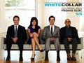 Tim Decay,Tiffani Thiessen,Matt Bomer,  - white-collar photo