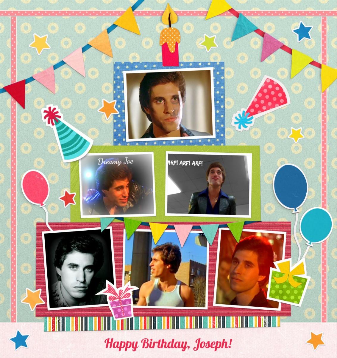 Today is Joseph Cali's birthday