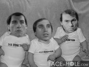 Tony, Joey and Double J as bambini