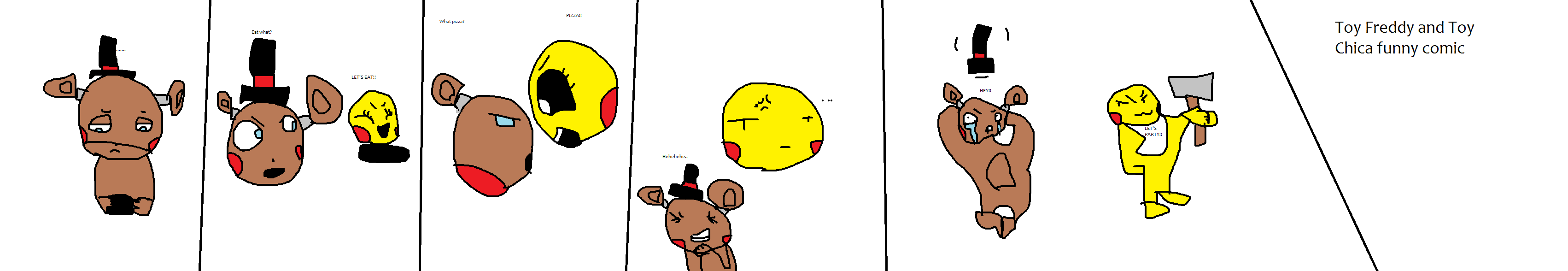 Toy Freddy and Toy Chica funny