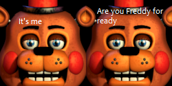 Toy Freddy comic