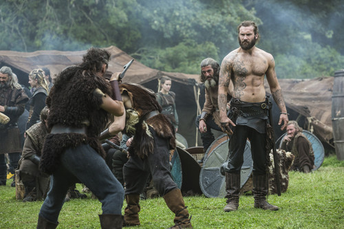 """vikingos (serie de televisión) wallpaper probably with a horse wrangler, a horse trail, and a atirador titled Vikings """"To The Gates!"""" (3x08) promotional picture"""