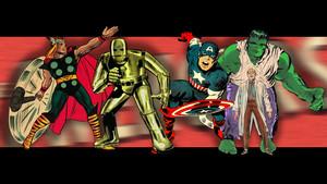 Vintage Original Avengers