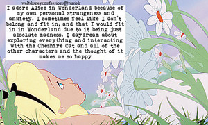 Walt Disney Confessions - Alice In Wonderland.