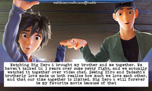 Walt Disney Confessions - Big Hero 6.