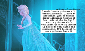 Walt Disney Confessions - Elsa.