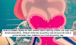Walt disney Confessions - Jessica Rabbit.