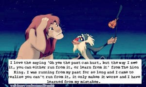 Walt Дисней Confessions - The Lion King.