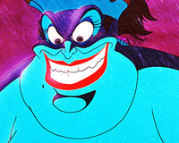 Walt disney icon - Ursula