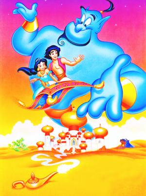Walt 디즈니 Posters - 알라딘
