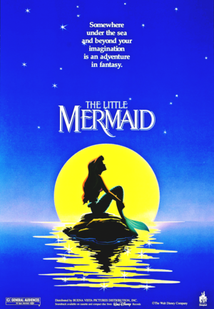 Walt Disney Posters - The Little Mermaid