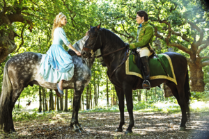 Walt Disney Production Stills - Princess Ella & Prince Kit
