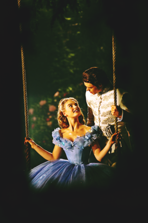 Walt Disney Production Stills - Princess Ella & Prince Kit