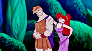 Walt Disney Screencaps - Hercules & Megara