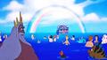 Walt Disney Screencaps - King Triton, Sebastian, Flounder, Princess Ariel, Prince Eric - walt-disney-characters photo