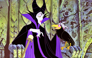 Walt disney wallpaper - Maleficent & Diablo