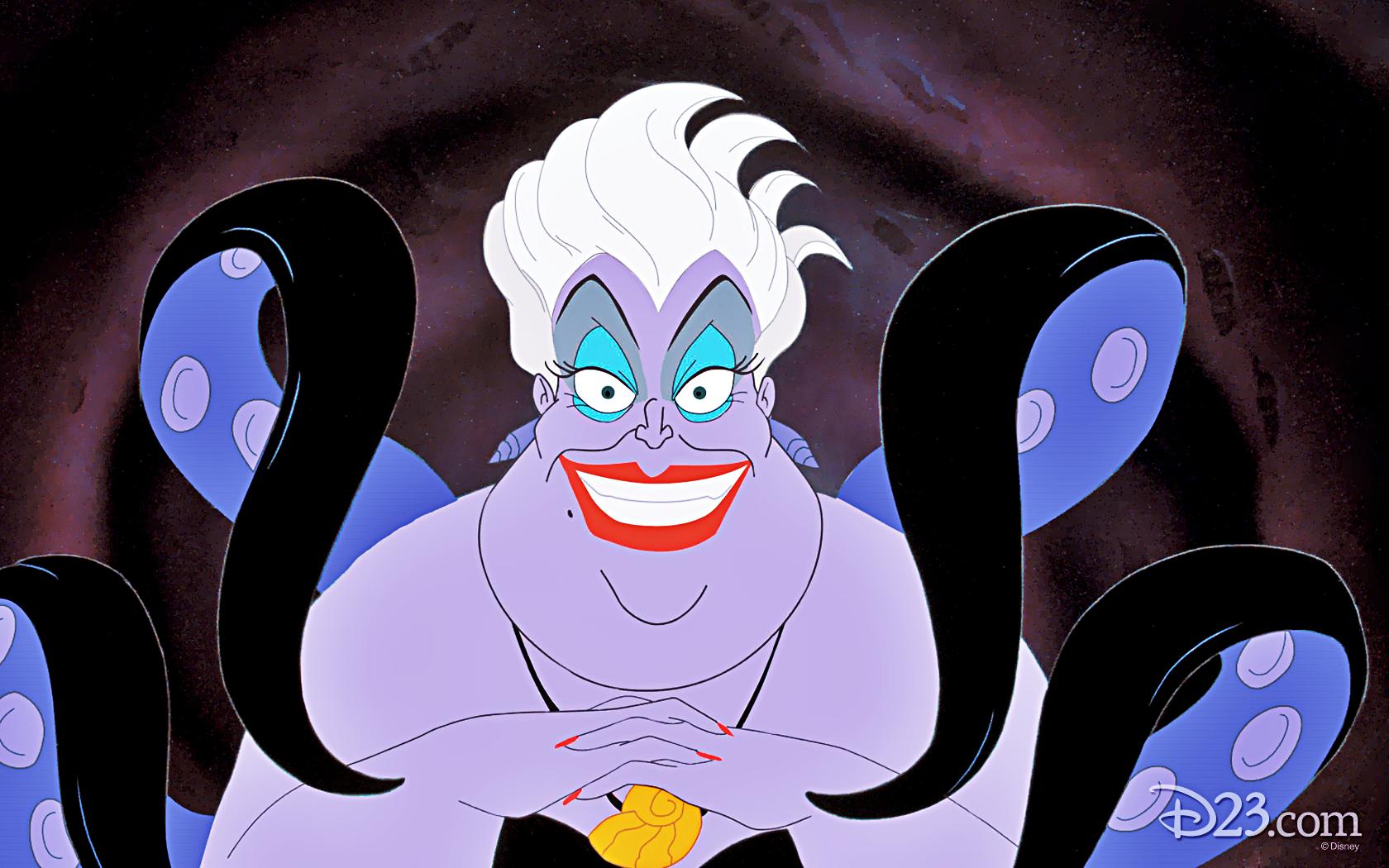 Walt Disney Wallpapers - Ursula - Walt Disney Characters Wallpaper ...