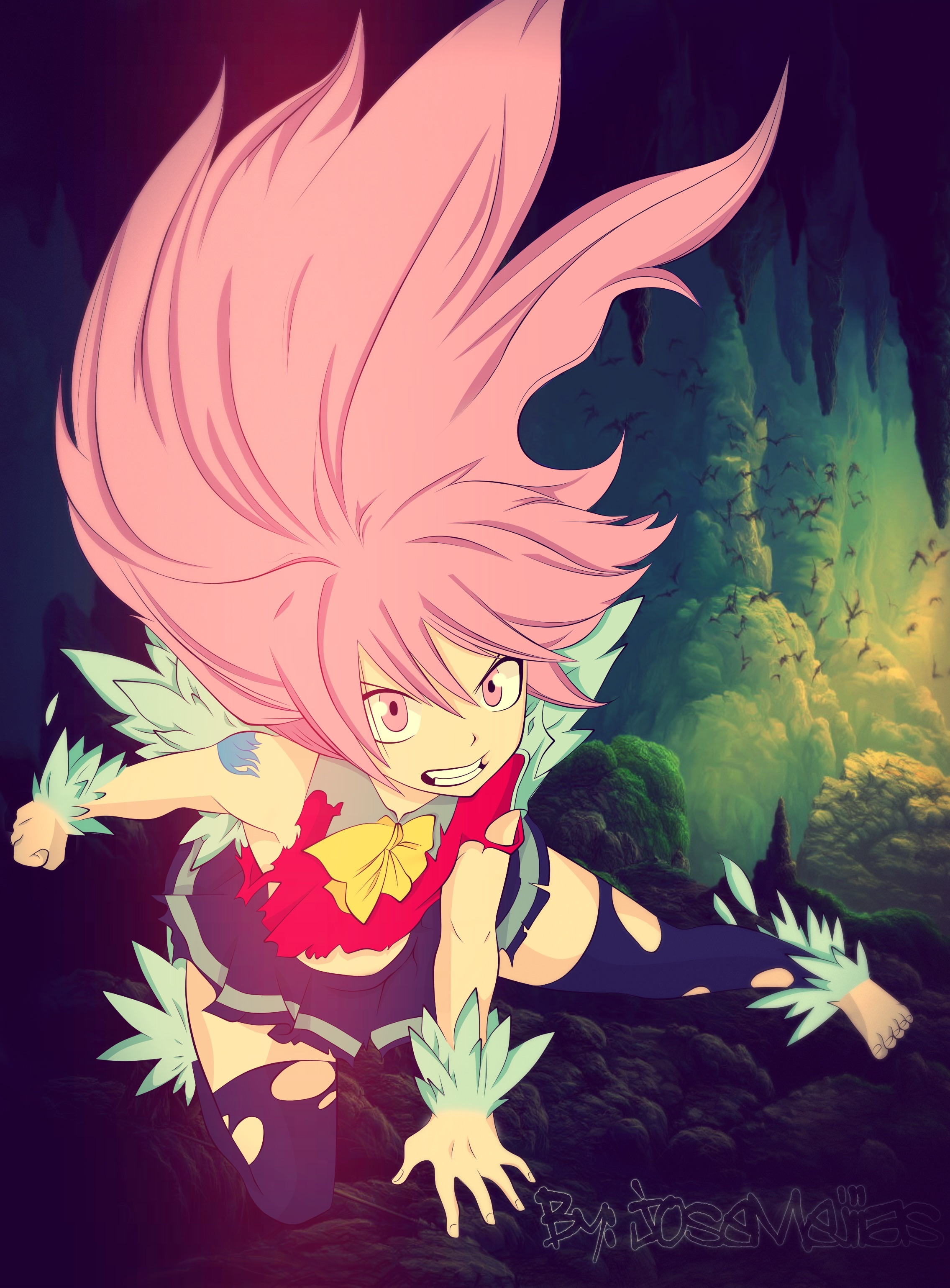 Winx club and fairy tail images Wendy Dragon Force HD ...