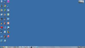 Windows 2000/ME Aero Theme No Window