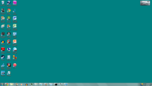 Windows 95/98 Aero Theme No Window