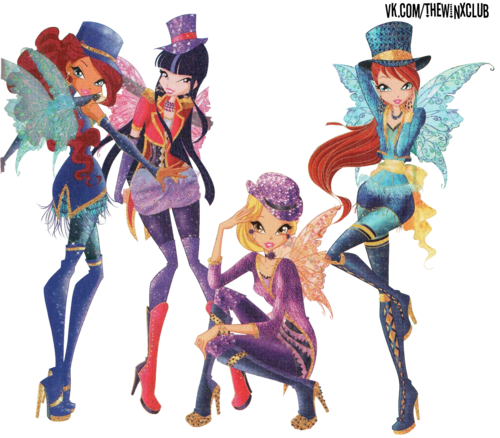 El Club Winx fondo de pantalla possibly containing a japanese albaricoque called Winx Club PNG