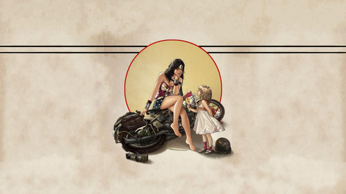 वंडर वुमन वॉलपेपर titled Wonder Woman