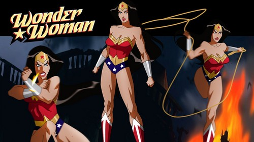 Wonder Woman wallpaper probably containing a swimsuit and a leotard entitled Wonder Woman