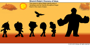 Wreck-It Ralph 2 Scenery of Ideas 23
