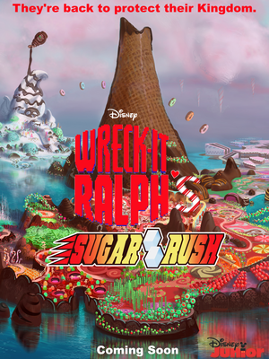 Wreck-It Ralph's Sugar Rush Poster