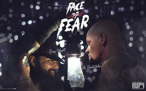 WWE 바탕화면 entitled WrestleMania 31 - Bray Wyatt vs The Undertaker